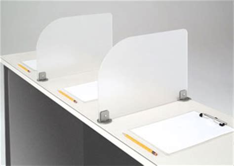 privacy shields for student desks smartdesks the great divide privacy screens for testing