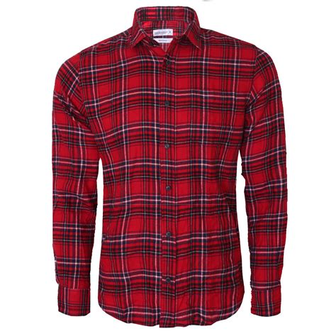Shirt Moskav Lumber Flannel mens lumber check casual smart cotton work flannel shirt sleeve m 5xl ebay