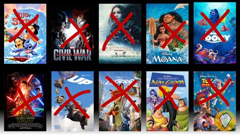 film marvel disney disney pixar and marvel are all taking their movies off