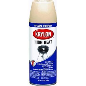 beige 12 oz high heat spray paint by krylon k01408000