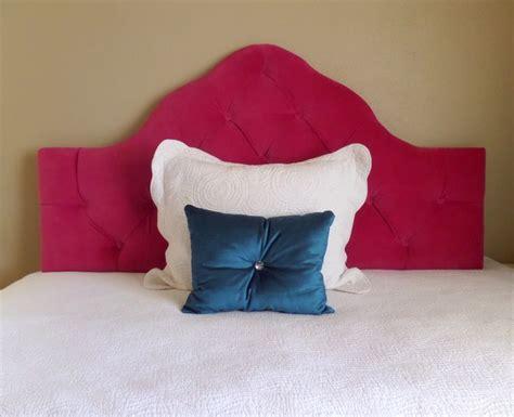 Pink Velvet Headboard by Size Tufted Upholstered Headboard Fuchsia Pink