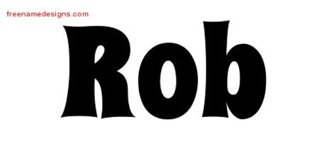 Rob Archives Page 2 Of 2 Free Name Designs