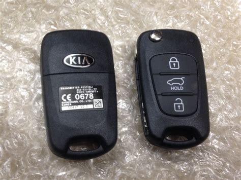 resetting kia key fob kia flip remote key fob 3 button chip 50412 ceed pro