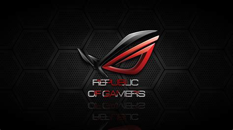 wallpaper republic of gamers 4k uhd 4k asus rog logo 245