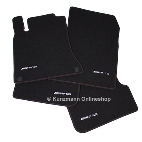 Amg Mats by Amg Floor Mats Cut Velours Black W117
