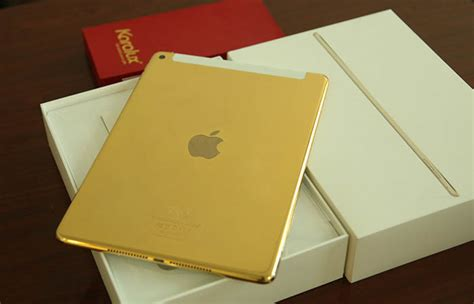 Air 2 Gold 64gb gold air 2 karalux unveil the prices of 24k gold plated air 2 wifi 4g