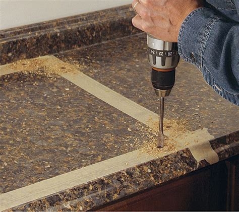 Cutting Countertop For Kitchen Sink by Cut A Laminate Countertop For A Sink