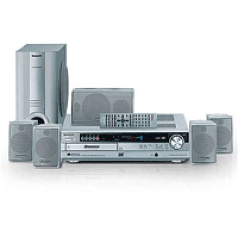 panasonic home theater system with 5 disc code free dvd cd