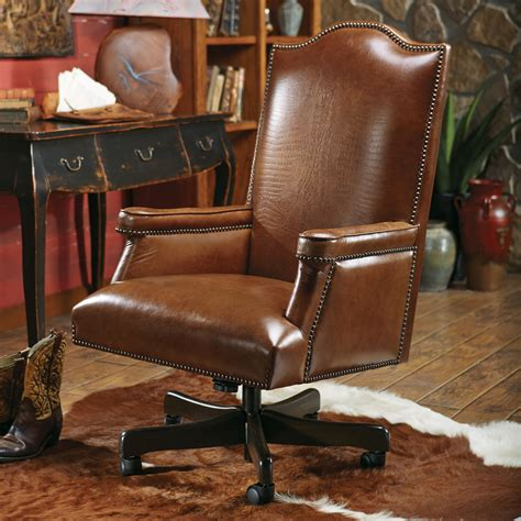 Leather Executive Desk Chair by Baron Executive Chair With Croc Leather