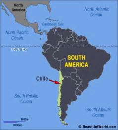 map of chile in south america map of chili facts information beautiful world