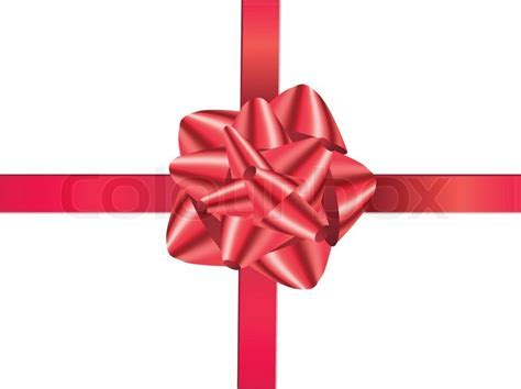 A decoration christmas red gift ribbon, endow, ruddy
