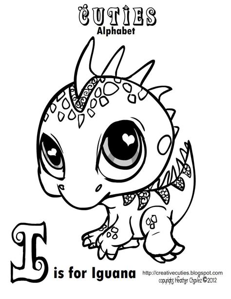 letter i is for iguana coloring page free printable creative cuties may 2012