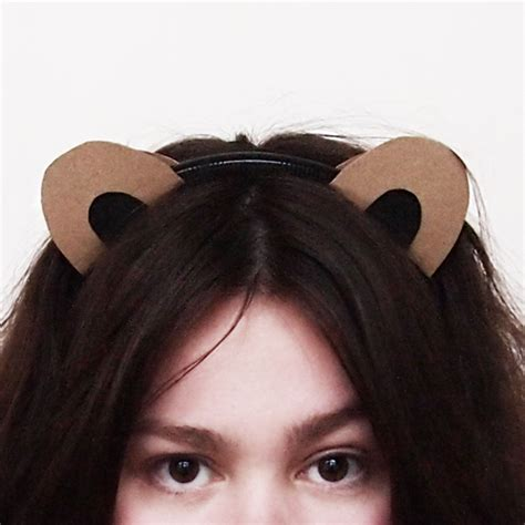 How To Make Paper Ears - animal ears archives design and paper