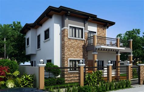 home design 7 marcelino four bedroom two storey mhd 2016021 pinoy