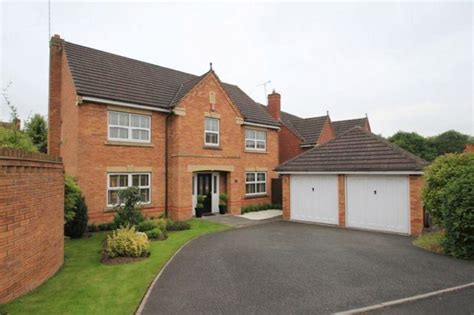 four bedroom houses for sale 4 bedroom detached house for sale in kensington drive stafford st18