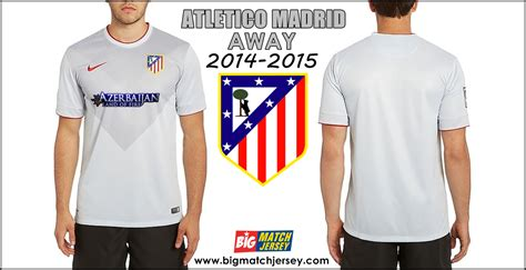 Jersey Player Issue Atletico Madrid 2014 2015 Big Match | jersey atletico madrid away 2014 2015 big match jersey