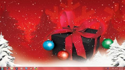 christmas themes pack 3 hand picked high quality christmas windows 7 themes skin