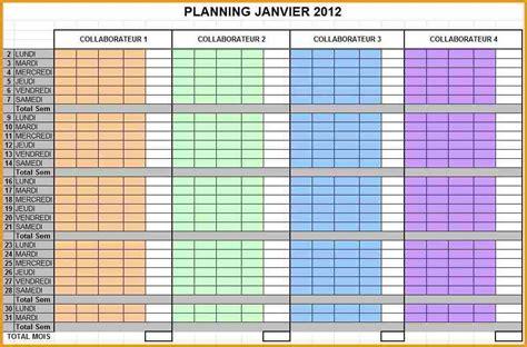 6  planning excel gratuit   lettre administrative