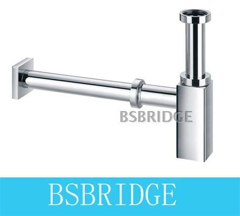 P Trap Bathroom Sink - aliexpress com buy bsbridge bathroom brass basin siphon sink new square chrome bathroom vanity
