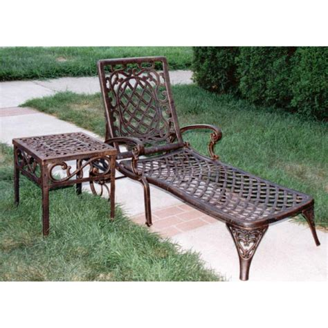 oakland living patio furniture oakland living 174 mississippi chaise lounge 122318 patio