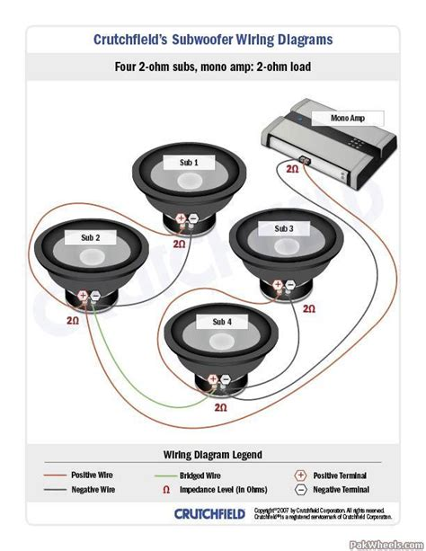 Subwoofer Wiring Diagrams Big 3 Upgrade In Car