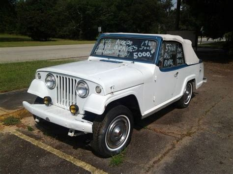1967 Jeep Commando Buy Used 1967 Kaiser Jeepster Commando In Appling
