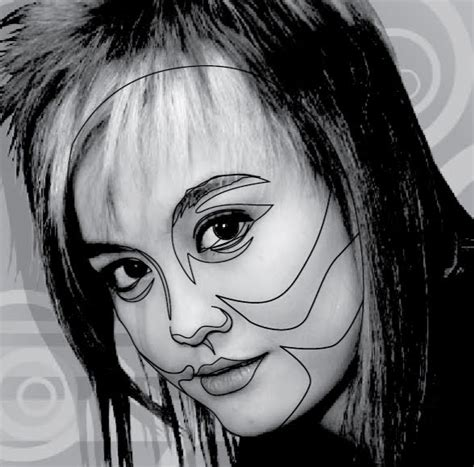 tutorial desain vektor wajah gambar vector wajah di illustrator desainstudio
