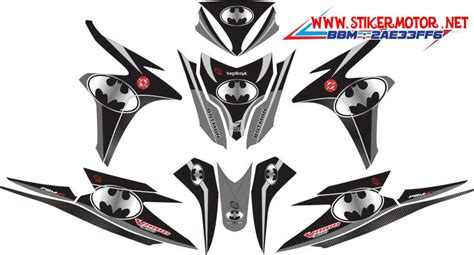 Paking Top Set Honda Vario Beat Blade Revo Abs Kharisma honda vario techno 125 fi batman silver stikermotor net
