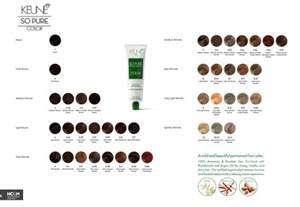 so color chart keune so color shade palette 2015 keune