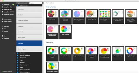 chart graph software pie chart software pie charts donut charts