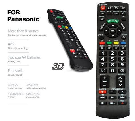 panasonic lcd led tv remote contro end 2 12 2018 1 15 pm