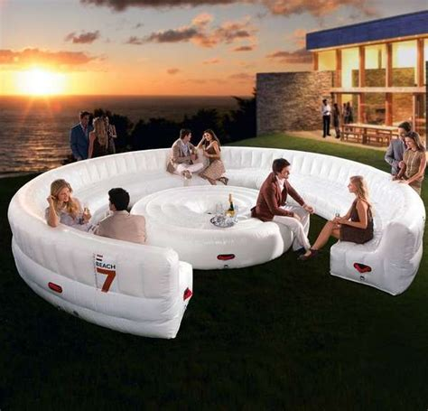 party couch bouncy castle lounge furniture inflatable lounge