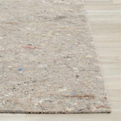 safavieh rug pad safavieh durapad grey 9 ft x 12 ft non slip surface