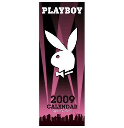 Calendrier Play Boy Calendrier Mince 2009 Boutique Pink