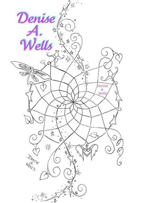dreamcatcher tattoo design by denise a wells flickr