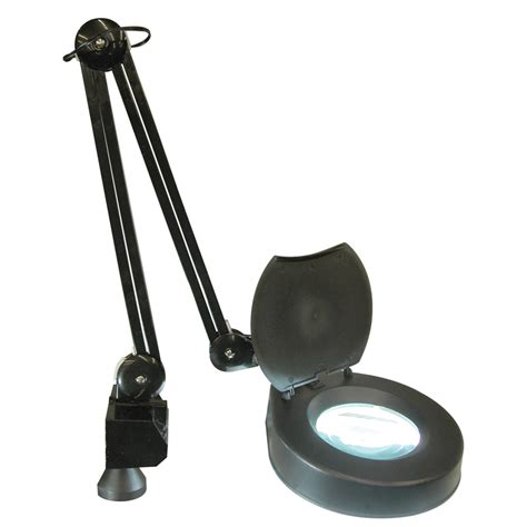 bench magnifier with light magnifier w light desk mount magnifier with light