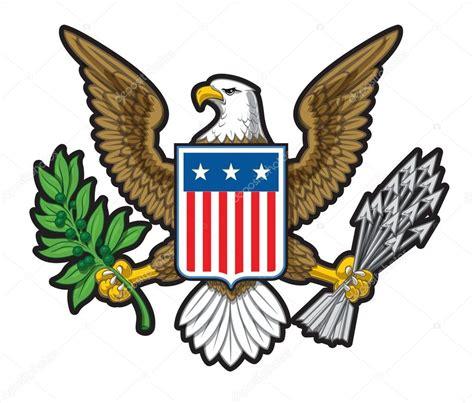 The Bald Eagle American Symbols american bald eagle usa insignia stock vector