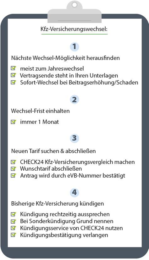 Autoversicherung Einfach Wechseln by Kfz Versicherung Wechseln Anleitung So Geht S Check24
