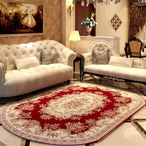 cm oval pastoral carpets  living room home rugs