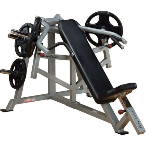 academy bench press body solid leverage incline bench press academy