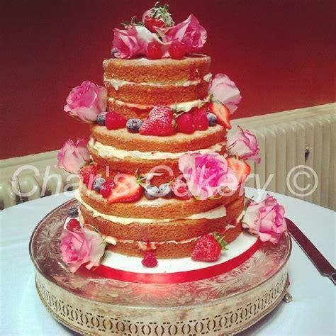 Mikayla 3 Layer 3 tiered sponge wedding cake wedding tiered