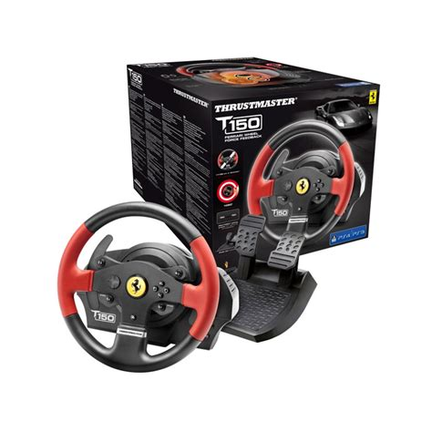 volante playstation 4 thrustmaster t150 feedback pc ps3 ps4