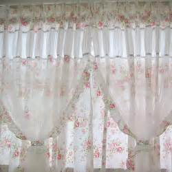Shabby Chic Kitchen Curtains Shabby Chic Curtain D 233 Coration Fen 234 Tre Autre Shabby Chic Decor Cottage