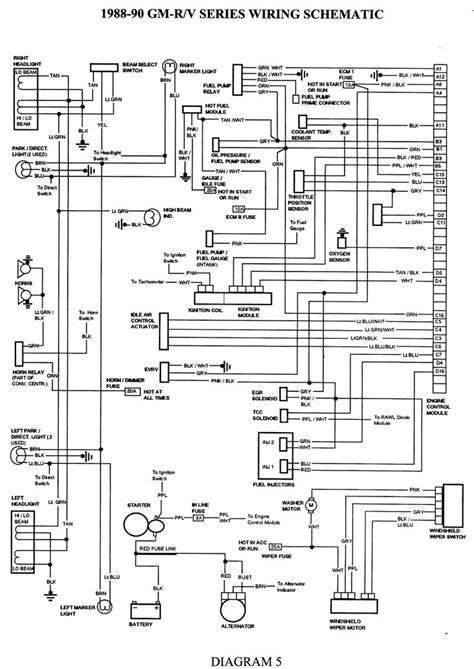 great  chevy  wiring diagram    stx