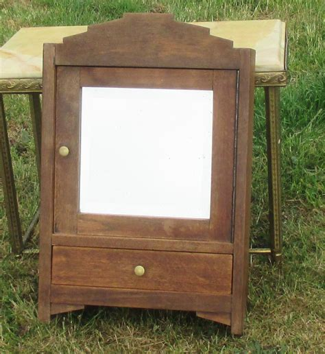 vintage bathroom cabinet with mirror vintage medicine bathroom cabinet beveled glass mirror
