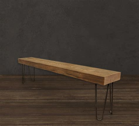 wood beam bench solid wood beam bench 6 modern dining benches