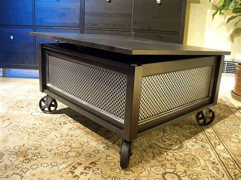 Ikea Trunk Coffee Table Ikea Hemnes Coffee Table Into Trunk Diy Inspiration Pinterest