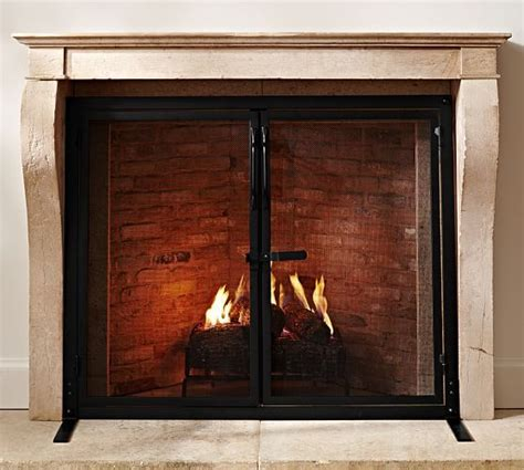 1000 ideas about industrial fireplaces on