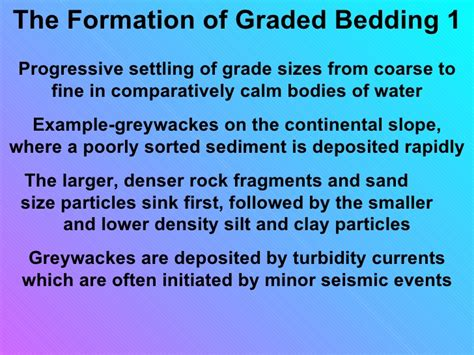what is graded bedding sedimentary structures smallas