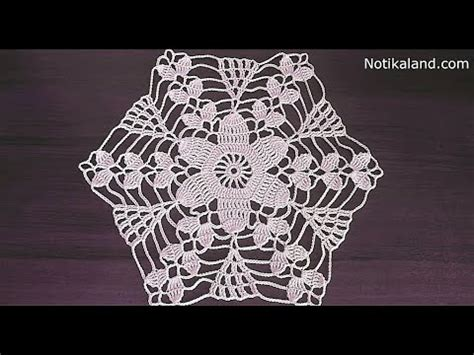 Crochet Motif Patterns For Tablecloth Part 5 How To Join crochet doily tutorial pattern crochet motif how to c